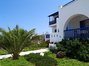 Studios and apartments in Naxos.